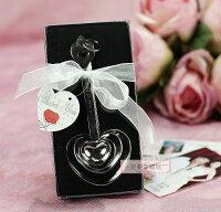 婚禮小物推薦到一定要幸福哦~~心心相印量勺、婚禮小物、送客禮