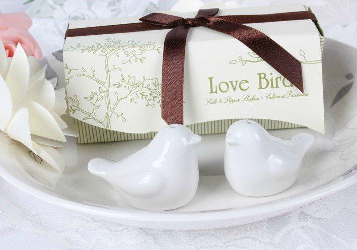 一定要幸福哦~~愛情鳥調味罐,婚禮小物,送客禮,姐妹禮