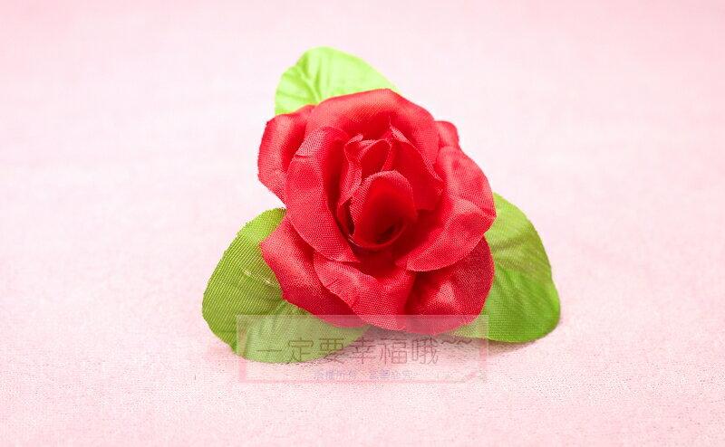 一定要幸福哦~~玫瑰胸花(A款) 、禮儀名條、婚禮小物、婚俗用品 、紅包袋