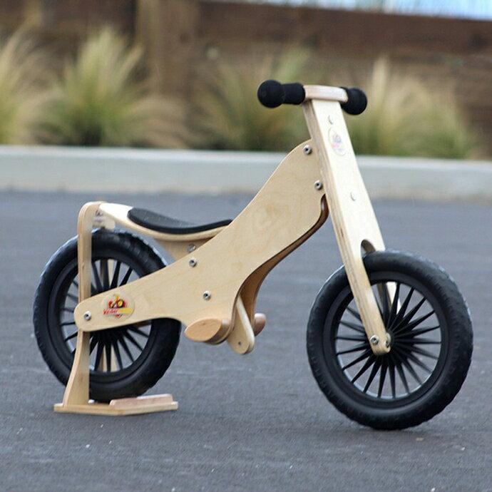美國【Kinderfeets】木製平衡滑步車/教具車-英雄聯盟系列(森林戰士) 1