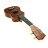 """21"""" Soprano Cute Wooden Coffee Ukulele Guitar With Bag 2"""
