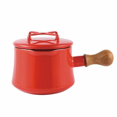 日本 DANSK 琺瑯牛奶鍋 1000ml 紅色