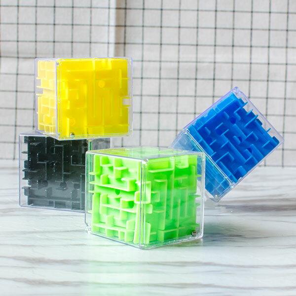 【aife life】3D立體迷宮/磁性魔方球/兒童益智早教智力玩具/幼兒園學生獎勵/迷你攜帶型/掌上型平衡遊戲/迷宮尺/彈珠/贈品/禮品