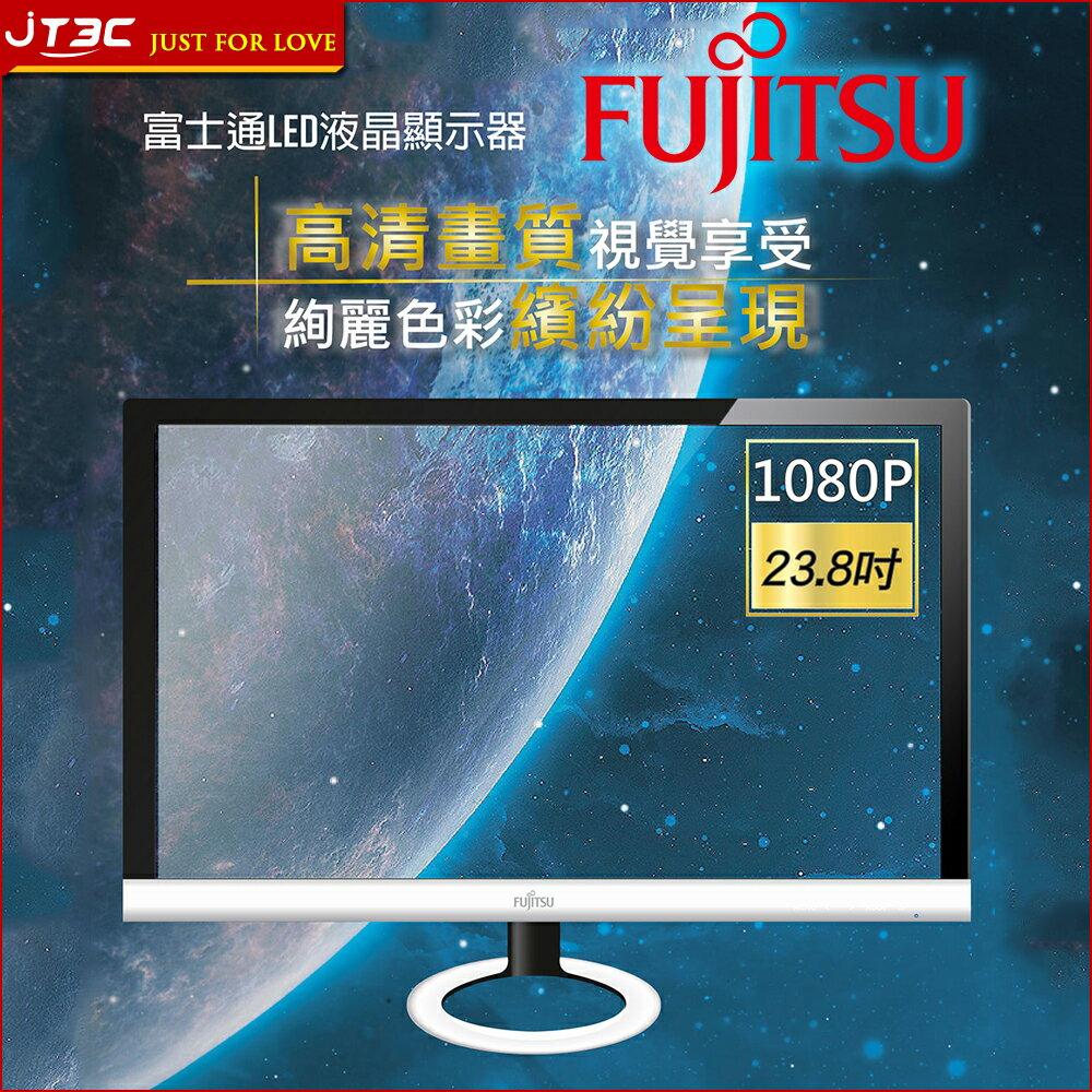 【滿3千10%回饋】FUJITSU 富士通 CV24T-1R 24型VA寬螢幕
