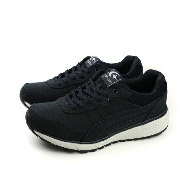 HUMAN PEACE:MoonstarSUPPLIST健走鞋運動鞋舒適深藍色男鞋SUM1615no089