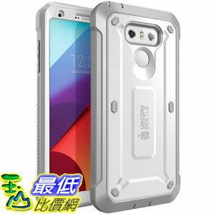 [106美國直購] SUPCASE LG G6 Case 白色 [Unicorn Beetle PRO Series] 手機殼保護殼