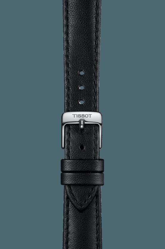 TISSOT 天梭 T1032101601800 BELLA ORA 皮帶石英女腕錶 38mm 3