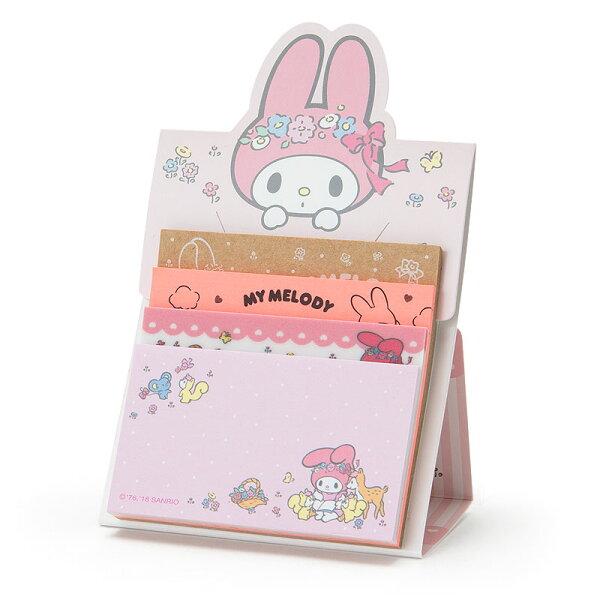 【真愛日本】18051800014日本製自黏便箋-MM加ACO美樂蒂melody便利貼便條紙文具