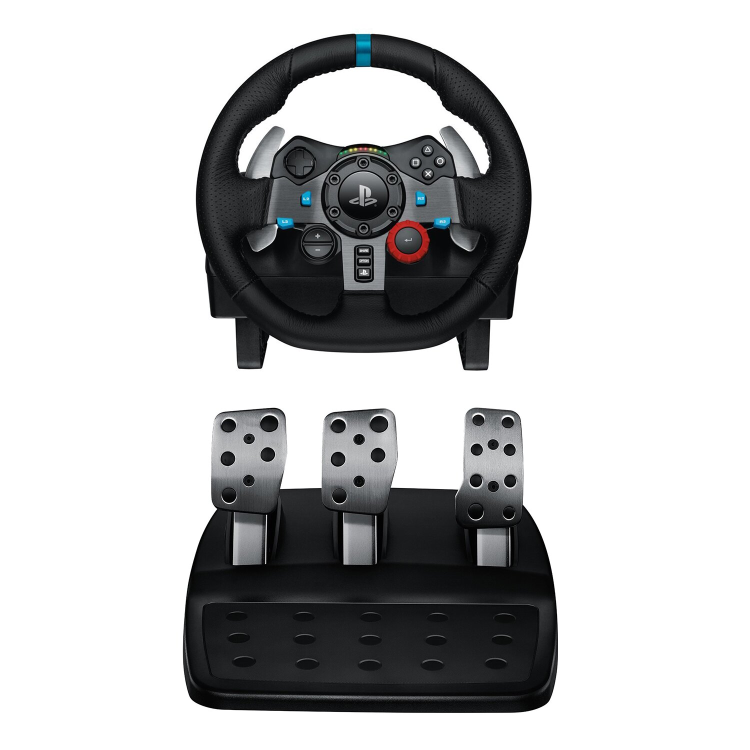 Logitech G29 Driving Force Racing Wheel Dual Motor Force Feedback for PS3 & PS4 0