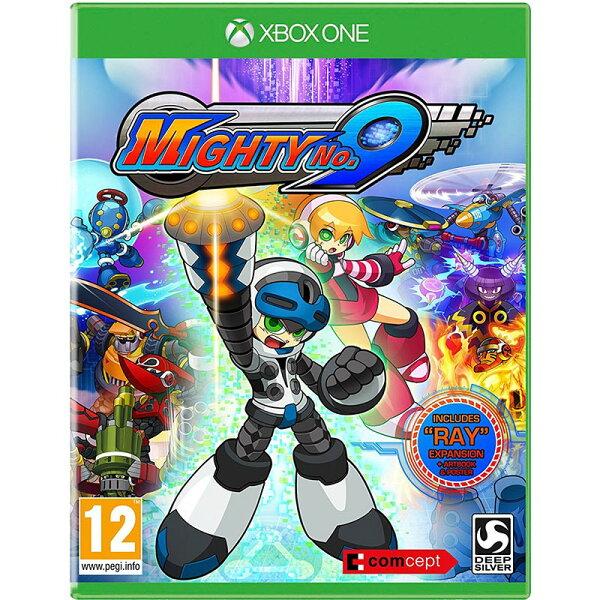 2097 電玩玩具公仔舖:XBOXONE麥提9號-英文日文合版-MIGHTYNO.9無敵9號