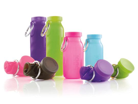 騎跑泳者-BubiBottle水瓶收納方便,外出旅行,運動好幫手三種容量,8色可選,送寶礦力粉乙小盒