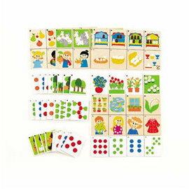 【淘氣寶寶】德國Hape愛傑卡-親子教育系列-主題算數遊戲【天然實木、植物性水染漆、德國環保玩具】