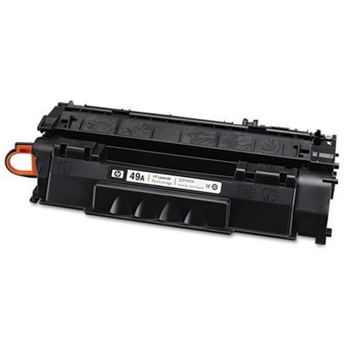 HP 49A Original Toner Cartridge - Single Pack - Laser - 2500 Pages - Black - 1 Each 2