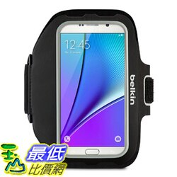 [106美國直購] 手機臂套 Belkin Sport-Fit Plus Armband for Samsung Galaxy Note 4, Note 5, Galaxy S7 Edge Plus