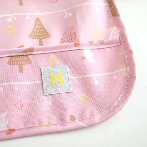 Hoppetta - 花語森林餐圍兜 (粉紅) 7