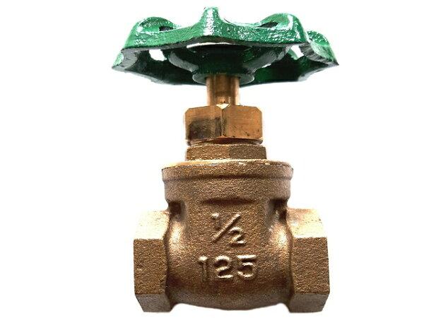 銅製凡爾六分雙內牙(34吋水管開關接頭)