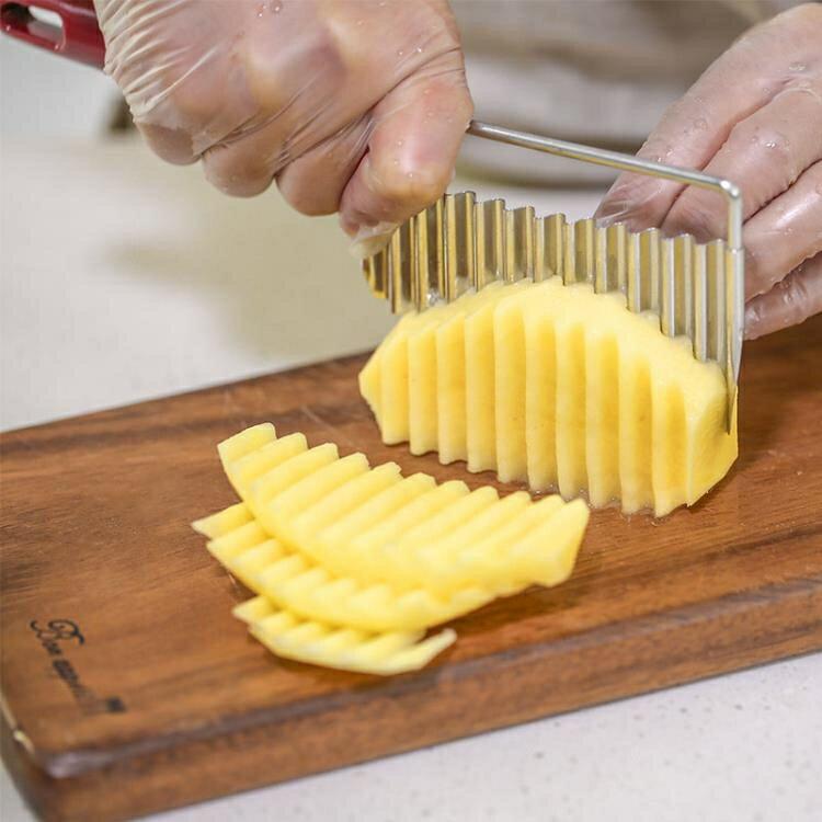 豆腐刀 日本IGERCROWN波浪型波紋型豆腐切刀薯片切刀波浪切片器