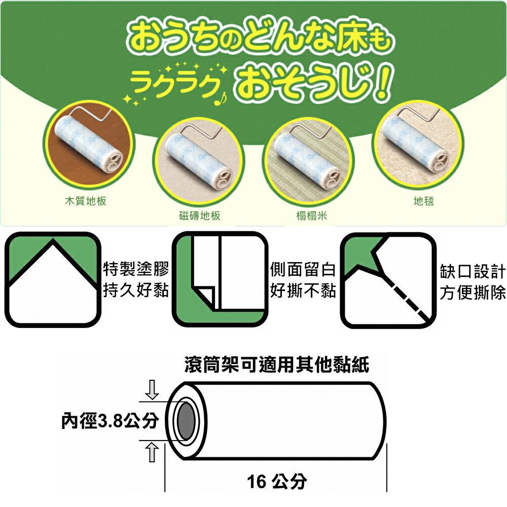 日本NITOMS滾筒黏紙補充包 3入