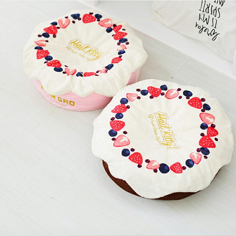 奶油蛋糕深層睡眠床(莓果粉色 / 巧克力色) 2