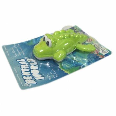 發條水中玩具/鱷魚【六甲媽咪】