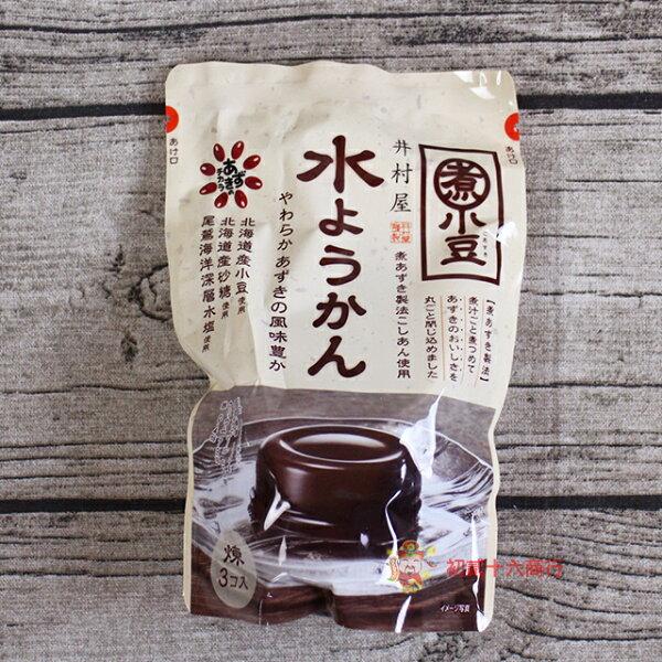 【0216零食會社】井村屋_紅豆水羊羹186g