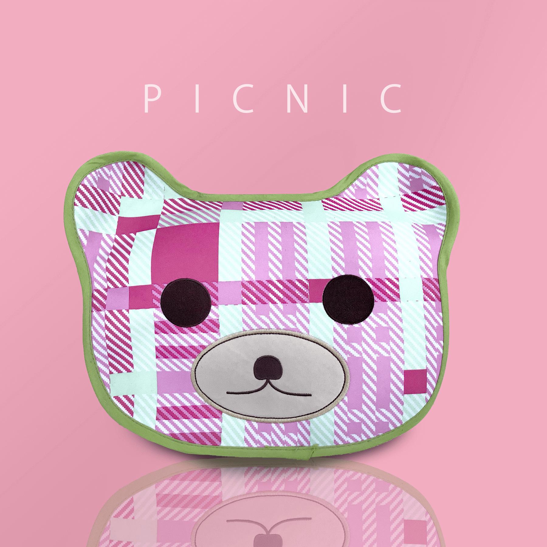 VIRO 野餐趣 熊薄墊