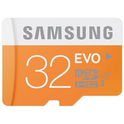 Samsung EVO 32GB microSDHC Class 10 32G microSD micro SD SDHC 48MB/s UHS-I C10 MB-MP32DA with Original SD Adapter