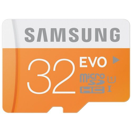 Samsung EVO 32GB microSDHC Class 10 32G microSD micro SD SDHC 48MB/s UHS-I C10 MB-MP32DA with Original SD Adapter