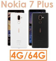 【原廠貨 分期0利率】諾基亞 NOKIA 7 Plus 八核心 6吋 4G/64G 4GLTE 智慧型手機●Nokia7+