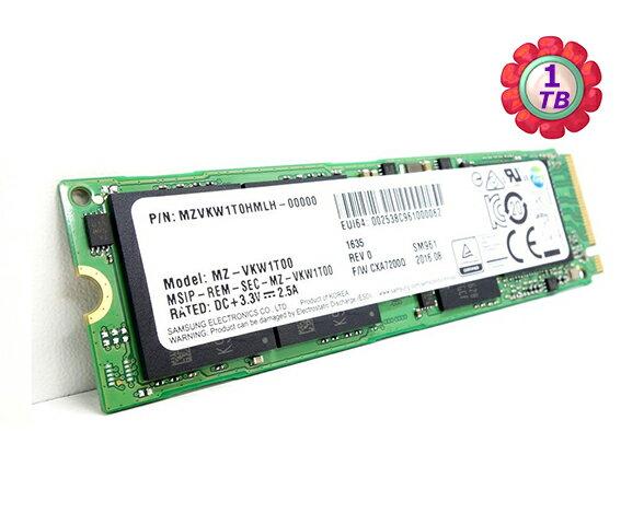 Samsung 三星 SSD 1TB 1T【NVMe】SM961 Gen3 M.2 80mm PCIe 3.0 x4 MZVKW1T0HMLH 固態硬碟