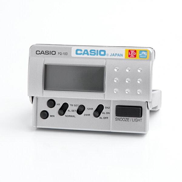 鬧鐘 CASIO輕量化設計電子鐘【NVC11】柒彩年代