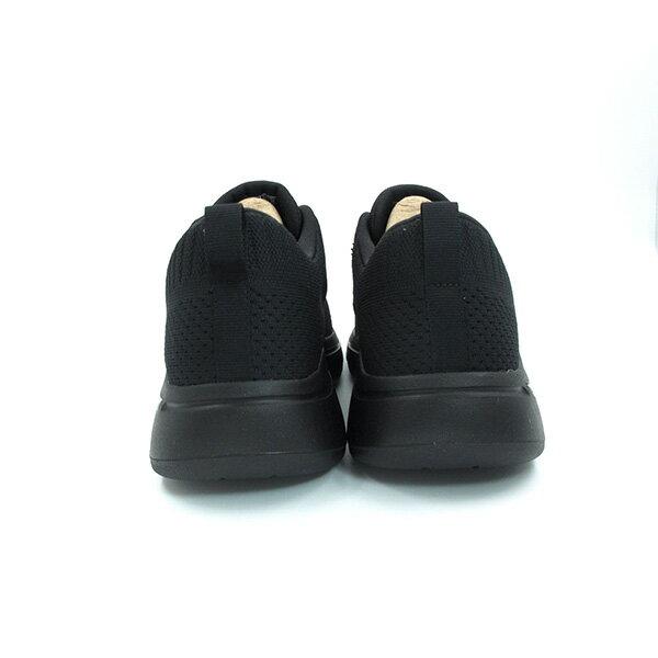 SKECHERS Go Walk Arch Fit 健走鞋 足弓鞋墊 鬆緊帶 編織 全黑 男生【216126BBK】