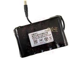 【尋寶趣】長效電池 12V 15600mAh DC接頭 監視器適用 充電電池 攝影機 BTY-18650-06-3S2P