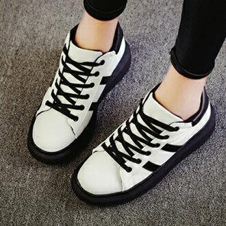 帆布鞋 休閒鞋-時尚潮流運動厚底低筒平底女鞋子3色72ac16【獨家進口】【米蘭精品】