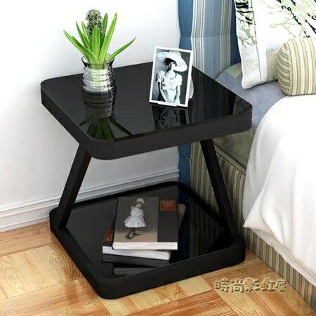 簡易床頭櫃簡約現代臥室組裝床頭桌收納櫃子迷你個性儲物櫃床邊櫃MBS 清涼一夏钜惠