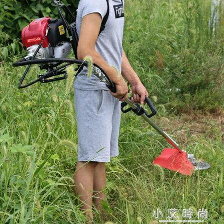 割草機 割草機四沖程背負式汽油多功能小型家用鬆土頭除草機農用微耕機 小艾時尚 NMS 清涼一夏钜惠