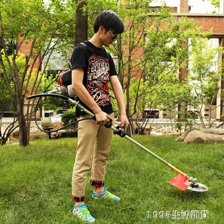 四沖程背負式側掛汽油割草機割灌機收割機除草機割稻機 清涼一夏钜惠