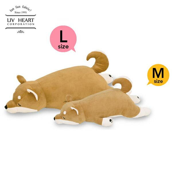 日本 LivHeart Premium Nemu nemu超夯療癒動物抱枕/M-L/柴犬-日本必買 日本樂天代購 (2786-3568*0.7)。滿額免運