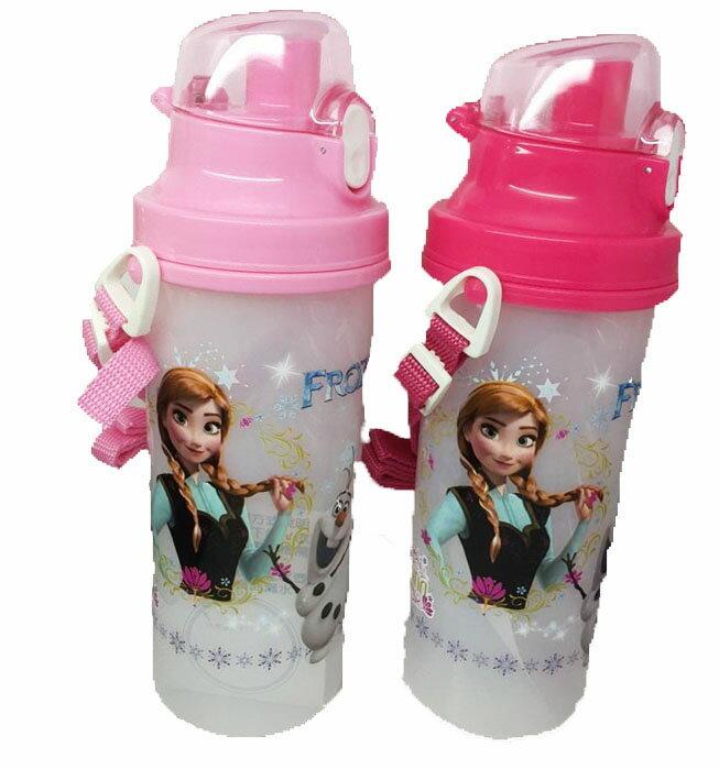 【真愛日本】15081200110 680CC彈蓋水壺-冰雪奇緣2色 迪士尼 冰雪奇緣 Frozen 水壺