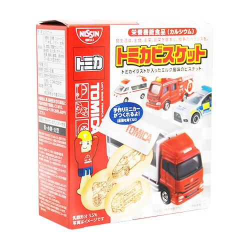 日本 日清食品 TOMICA 汽車餅乾(小汽車模型! 隨機出貨)★衛立兒生活館★ 2