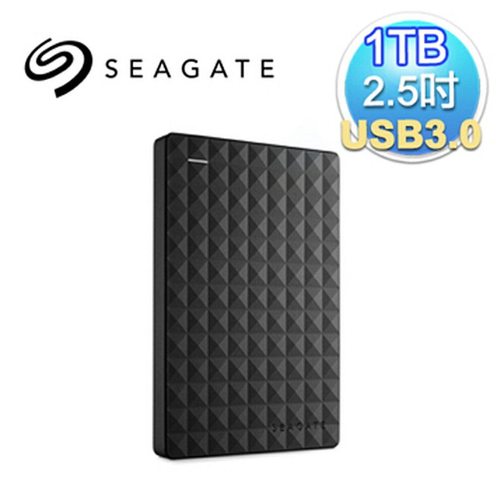 Seagate 希捷 新黑鑽 1TB 2.5吋 USB3.0 外接式硬碟(STEA1000400)(7636490063428) 【首購滿699送100點(1點=1元)‧全家取貨再送義美布丁‧6/30..