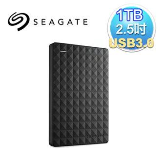 【最高現折$850】Seagate 希捷 新黑鑽 1TB 2.5吋 USB3.0 外接式硬碟(STEA1000400)(7636490063428)