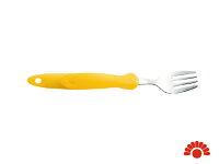 銀髮族餐具推薦到【銀元氣屋】銀髮族專用 日本進口  握柄可變形餐具-叉子就在銀元氣屋推薦銀髮族餐具
