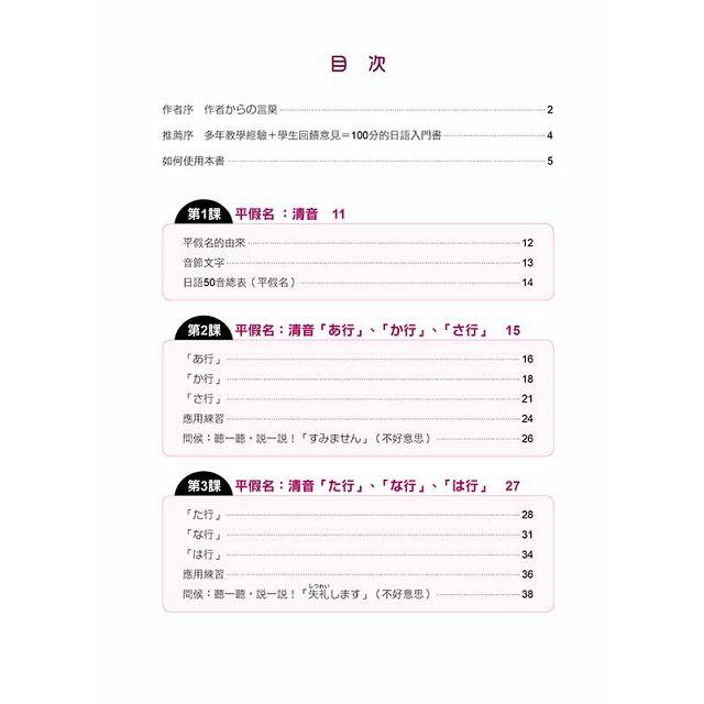 元氣日語50音全新修訂版(隨書附贈作者親錄標準發音+朗讀MP3)