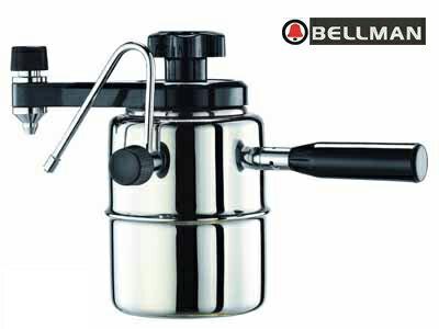 《Bellman》CX-25P 加壓式義式濃縮咖啡壺 (新版雙孔蒸氣噴嘴)【贈】專用濾紙、填粉器