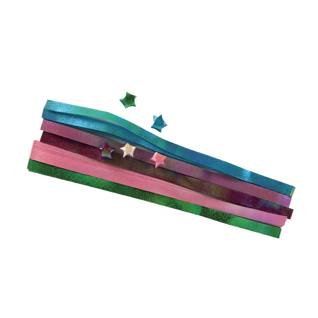 糖果色 彩虹 純色 星星紙 手工折紙 星星管 許願瓶 【H068】