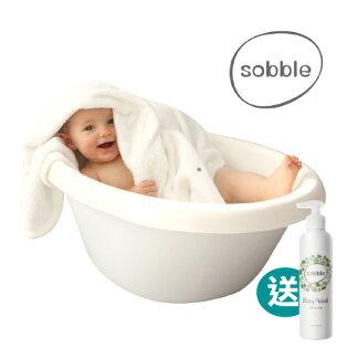 【加碼送植萃洗髮沐浴露(市值$725)】【最安全的澡盆】韓國Sobble棉花糖澡盆-乳白