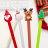 糖衣子輕鬆購【WE0268】創意聖誕老人中性筆麋鹿聖誕樹碳素筆原子筆 - 限時優惠好康折扣