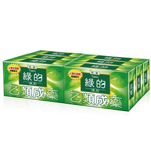 綠的GREEN 藥皂 80gX6入