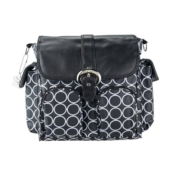小奶娃婦幼用品:Kalencom-時尚媽媽包雙背系列黑白圈